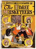 Golden Age (1938-1955):Classics Illustrated, Classic Comics #1 The Three Musketeers - First Edition (Gilberton,1941) Condition: VG+....