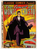 Golden Age (1938-1955):Classics Illustrated, Classic Comics #3 Count of Monte Cristo - First Edition (Gilberton,1942) Condition: Apparent FN+....