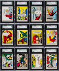 "Non-Sport Cards:Sets, 1966 Donruss ""Marvel Super Heroes"" High Grade Complete Set (66)...."