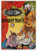 Golden Age (1938-1955):Classics Illustrated, Classic Comics #8 Arabian Nights - First Edition (Gilberton, 1943) Condition: FN....