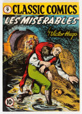Golden Age (1938-1955):Classics Illustrated, Classic Comics #9 Les Miserables - First Edition 1A (Gilberton,1943) Condition: Apparent VG....