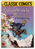 Golden Age (1938-1955):Classics Illustrated, Classic Comics #12 Rip Van Winkle and the Headless Horseman - FirstEdition (Gilberton, 1943) Condition: Apparent FN+....