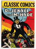 Golden Age (1938-1955):Classics Illustrated, Classic Comics #13 Dr. Jekyll and Mr. Hyde - First Edition (Gilberton, 1943) Condition: FN....