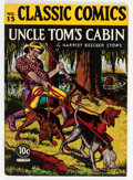 Golden Age (1938-1955):Classics Illustrated, Classic Comics #15 Uncle Tom's Cabin - First Edition (Gilberton,1943) Condition: FN-....