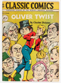 Golden Age (1938-1955):Classics Illustrated, Classic Comics #23 Olive Twist - First Edition (Gilberton, 1945) Condition: VG....