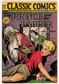 Golden Age (1938-1955):Classics Illustrated, Classic Comics #29 The Prince and the Pauper - First Edition(Gilberton, 1946) Condition: Apparent FN....