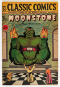 Golden Age (1938-1955):Classics Illustrated, Classic Comics #30 The Moonstone - First Edition (Gilberton, 1946) Condition: VG....