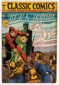 Golden Age (1938-1955):Adventure, Classic Comics #31 The Black Arrow - First Edition (Gilberton, 1946) Condition: Apparent FN+....