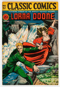 Golden Age (1938-1955):Classics Illustrated, Classic Comics #32 Lorna Doone - First Edition (Gilberton, 1946)Condition: VF....