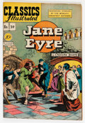 Golden Age (1938-1955):Classics Illustrated, Classics Illustrated #39 Jane Eyre - First Edition (Gilberton, 1947) Condition: FN....