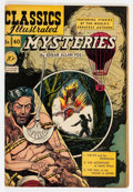 Golden Age (1938-1955):Classics Illustrated, Classics Illustrated #40 Mysteries (Gilberton, 1947) Condition:VG+....