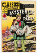 Golden Age (1938-1955):Adventure, Classics Illustrated #44 Mysteries of Paris - First Edition 1B (Gilberton, 1947) Condition: VG/FN....