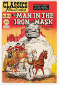 Golden Age (1938-1955):Classics Illustrated, Classics Illustrated #54 The Man in the Iron Mask - First Edition -Double Cover (Gilberton, 1948) Condition: FN+....