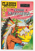 Golden Age (1938-1955):Classics Illustrated, Classics Illustrated #57 The Song of Hiawatha - First Edition (Gilberton, 1949) Condition: VF-....
