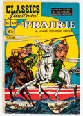 Golden Age (1938-1955):Classics Illustrated, Classics Illustrated #58 The Prairie (Gilberton, 1949) Condition: Apparent VF....