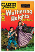 Golden Age (1938-1955):Classics Illustrated, Classics Illustrated #59 Wuthering Heights - First Edition(Gilberton, 1949) Condition: VF+....