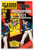 Golden Age (1938-1955):Classics Illustrated, Classics Illustrated #74 Mr. Midshipman Easy - First Edition(Gilberton, 1950) Condition: VF-....