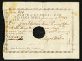Colonial Notes:Connecticut, Connecticut January 9, 1788 £4 15s 7d Very Fine, HOC.. ...