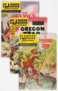 Golden Age (1938-1955):Classics Illustrated, Classics Illustrated First Editions Group (Gilberton, 1950-69)Condition: Average VF.... (Total: 9 Comic Books)