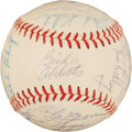 Autographs:Baseballs, 1966 Cleveland Indians Team Signed Baseball. ...
