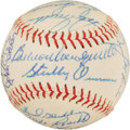 Autographs:Baseballs, 1966 Detroit Tigers Team Signed Baseball. ...