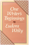 Books:Biography & Memoir, Eudora Welty. SIGNED. One Writer's Beginnings. Cambridge:Harvard, 1984. First edition, signed by the author on the ...