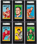 Football Cards:Sets, 1965 Topps Football Near Set (169/175) With Namath Rookie. ...