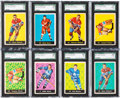 Hockey Cards:Sets, 1960 & 1961 Parkhurst Hockey Collection (62) With Near Set. ...