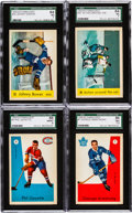 Hockey Cards:Sets, 1959 Parkhurst Hockey Near Set (46/50). ...
