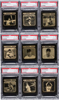 Baseball Cards:Sets, 1950 Drake's Cakes Baseball Partial Set (14/36). ...