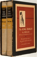 Books:Americana & American History, Tom Lea. The King Ranch. With maps and drawings by theauthor. Boston: Little, Brown, [1957]. First edition, first ...(Total: 2 Items)