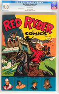 Golden Age (1938-1955):Western, Red Ryder Comics #22 (Dell, 1944) CGC VF/NM 9.0 Off-white pages....
