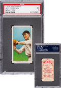 Baseball Cards:Singles (Pre-1930), 1909-11 T206 Hindu (Red) Jeff Sweeney, New York PSA EX 5 - FinestPSA Known! ...