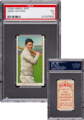 Baseball Cards:Singles (Pre-1930), 1909-11 T206 Hindu (Red) Josh Devore PSA EX 5 - Finest PSA Known!...