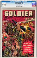 Golden Age (1938-1955):War, Soldier Comics #6 Crowley Copy pedigree (Fawcett Publications,1952) CGC VF/NM 9.0 Cream to off-white pages....