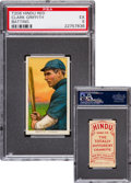 Baseball Cards:Singles (Pre-1930), 1909-11 T206 Hindu (Red) Clark Griffith, Batting PSA EX 5 - Finest PSA Known! ...
