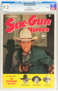 Golden Age (1938-1955):Western, Six-Gun Heroes #4 Hawkeye pedigree (Fawcett Publications, 1950) CGC NM- 9.2 White pages....