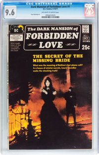 Dark Mansion of Forbidden Love #1 (DC, 1971) CGC NM+ 9.6 Off-white to white pages