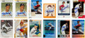 Autographs:Sports Cards, 1983-2003 Stan Musial Signed Baseball Cards Lot of 12....