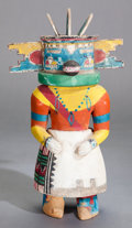 American Indian Art:Kachina Dolls, A HOPI COTTONWOOD KACHINA DOLL. c. 1940. ...