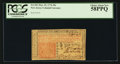 Colonial Notes:New Jersey, New Jersey March 25, 1776 30s PCGS Choice About New 58PPQ.. ...
