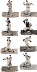 Baseball Cards:Sets, Very Rare 1955 Spic and Span Milwaukee Braves Partial Set (8/18). ...