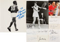 Autographs:Others, 1950's-90's Collection of Olympic, Boxing & Other Sports Signed Business Cards Lot of 220....