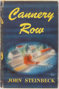 Books:Literature 1900-up, John Steinbeck. Cannery Row. The Viking Press, 1945. Firstedition. Octavo. Publisher's original yellow cloth le...