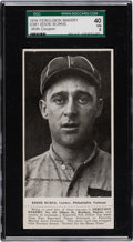 Baseball Cards:Singles (Pre-1930), 1916 D381 Ferguson Bakery Eddie Burns With Coupon SGC 40 VG 3 -Only Two Known. ...