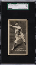 "Baseball Cards:Singles (Pre-1930), Extremely Rare 1911 ""Big Eater"" Fuller Thomson SGC 40 VG 3 - TheOnly Example on Record! ..."