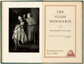 Books:Literature 1900-up, Tennessee Williams. The Glass Menagerie. Random House, 1945. First printing. Octavo. Illustrated with photograph...
