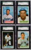 Baseball Cards:Sets, 1954 Bowman Baseball Near Set (214/224). ...