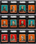 "Non-Sport Cards:Sets, 1932 R114 U.S. Caramel ""Presidents"" SGC Graded Collection (33). ..."