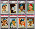 Baseball Cards:Lots, 1952 Topps Baseball PSA NM 7 Collection (37). ...
